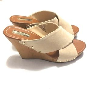 Jessica Simpson Jozie Suede Wedge Sandals